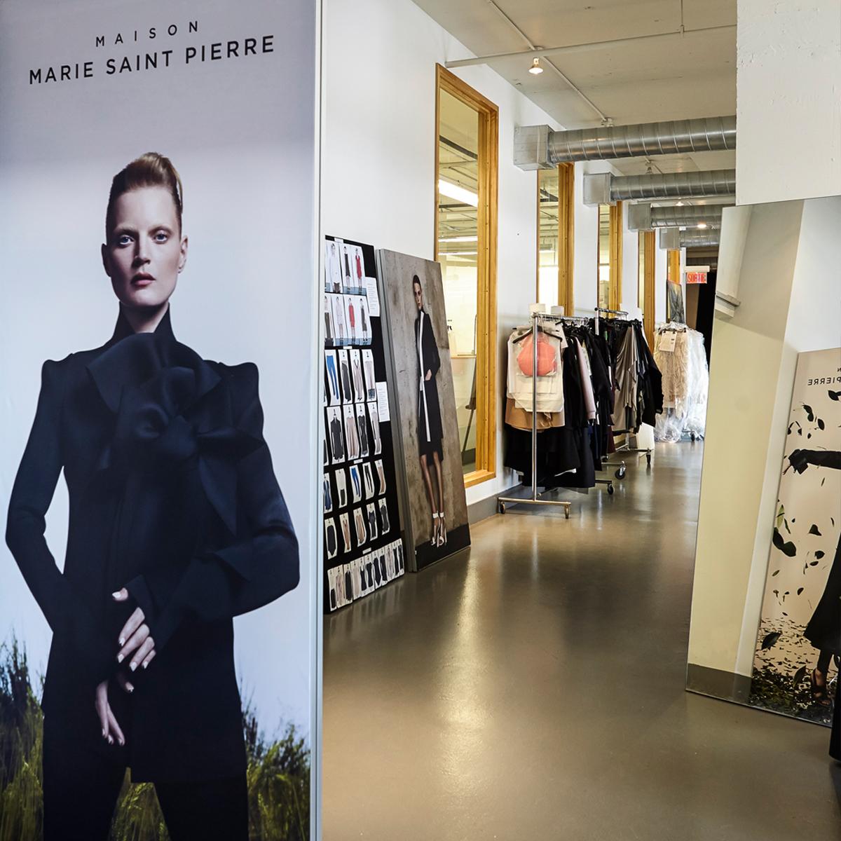Maison Marie Saint Pierre Atelier Fashion Montreal